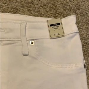 Abercrombie & Fitch Jeans - Abercrombie & Fitch white skinny jean